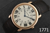 1771-CARTIER RONDE LOUIS CARTIER ROSE GOLD