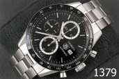 1379-TAG HEUER CARRERA CALIBRE 16 AUTOMATIC CHRONOGRAPH