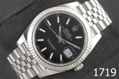 1719-ROLEX DATEJUST 41 OYSTERSTEEL AND WHITE GOLD