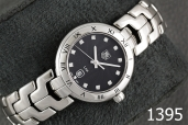 1395-TAG HEUER NEW LINK DIAMOND LADY