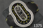 1375-AZIMUTH CRAZY RIDER AUTO WATCH MOTORCYCLE ENGINE DESIGN