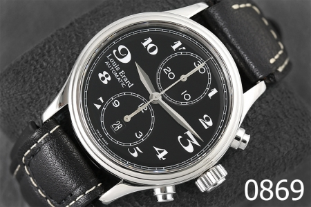 0869-LOUIS ERARD HERITAGE AUTOMATIC CHRONOGRAPH